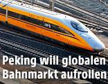 Ein China-Railway-High-Speed-Zug