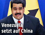 Der venezolanische Präsident Nicolas Maduro