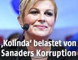 Kolinda Grabar Kitarovic, Präsidentschaftskandidatin der kroatischen HDZ
