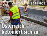 Verbaung einer Straße