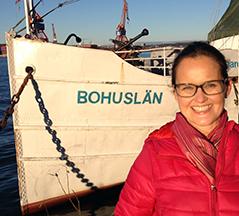 Carmen Bischof in Schweden