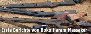 Waffen der Boko Haram