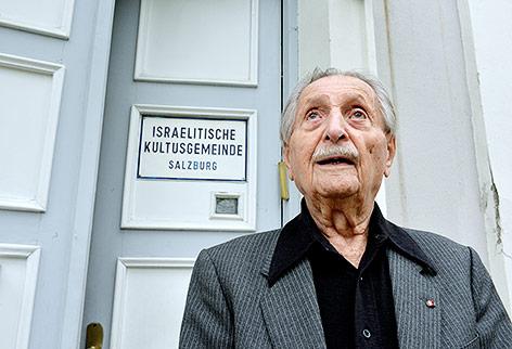 Marko Feingold, Präsident der Israelitischen Kultusgemeinde Salzburg