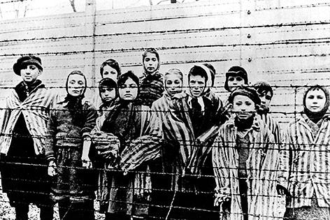 Kinder im Konzentrationslager Auschwitz