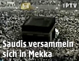 Trauernde in Mekka