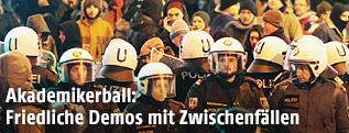 Akademikerball-Demo