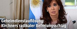 Argentiniens Präsidentin Cristina Fernandez de Kirchner