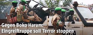 AU-Soldaten aus dem Tschad