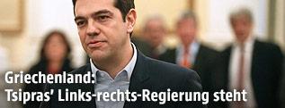Der griechische Premierminister Alexis Tsipras