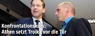Yanis Varoufakis, Jeroen Dijsselbloem