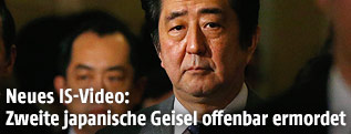 Japans Prämierminister Shinzo Abe