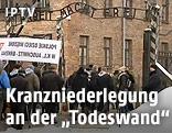 Eingang zum NS-Vernichtungslager Auschwitz-Birkenau
