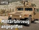 Israelisches Militärfahrzeug