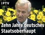 Der frühere deutsche Bundespräsident Richard von Weizsäcker