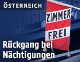 """""""Zimmer Frei""""-Fahne"""