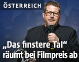 """Andreas Prochaska anlässlich der Verleihung """"Österreichischer Filmpreis 2015"""" im Wiener Rathaus"""