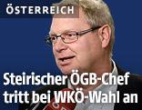 ÖGB-Chef Horst Schachner