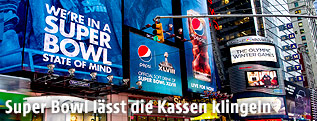 Super Bowl Plakat