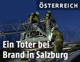 Feuerwehr am Dach