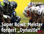 Seattle Seahawks gegen New England Patriots