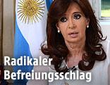 Argentiniens Präsidentin Cristina Fernandez de Kirchner - argentinien_geheimdienst_aufgeloest_kirchner_1k_r.4600657