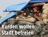 Kurden-Kämpfer
