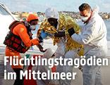 Flüchtling auf Lampedusa