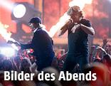 Brian Johnson und Angus Young von AC/DC