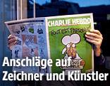 Ausgabe der Satire-Zeitschrift Charlie Hebdo