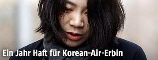 Tochter des Korean-Air-Chefs, Cho Hyun Ah