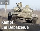 Panzer der prorussischen Separatisten