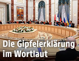 Ukraine Gipfel in Minsk