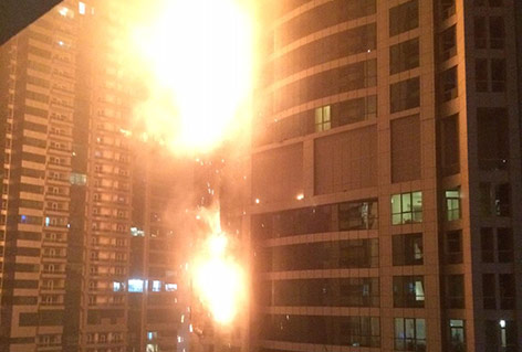 """""""The Torch"""" steht in Flammen"""