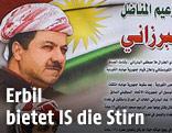 Plakat in Haus in Erbil