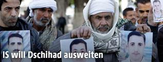 Angehörige der entführten Kopten