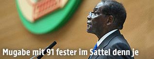 Simbabwes Präsident Robert Mugabe