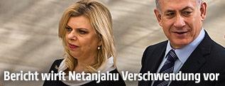 Benjamin Netanjahu mit Ehefrau Sarah