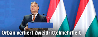 Ungarischer Ministerpräsident Viktor Orban