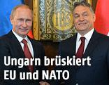 Vladimir Putin und Viktor Orban