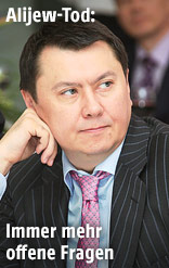 Rakhat Aliyev, der frühere kasachische Botschafter in Österreich