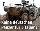 """Radpanzer """"Boxer"""" der Bundeswehr"""