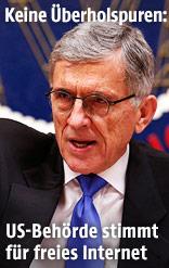 FCC-Vorsitzender Tom Wheeler