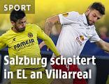 Szene aus dem Spiel Salzburg - Villarreal