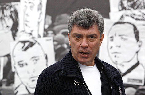 Achrivaufnahme des ermordeten Putin-Kritikers Boris Nemzow