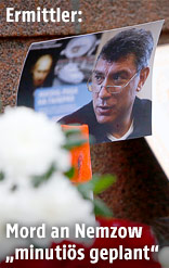 Foto des ermordeten Putin-Kritiker Boris Nemzow