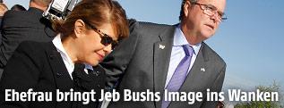 Jeb Bush mit Frau Columba