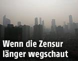 Smog über Schanghai
