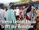 Menschen in Sierra Leone