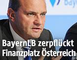 BayernLB-Chef Johannes-Jörg Riegler