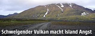 Isländischer Vulkan Bardarbunga